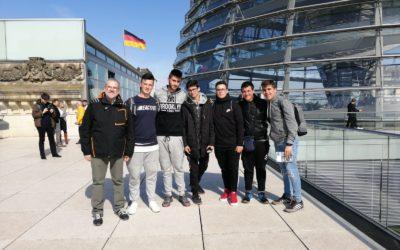 Los alumnos de Telecomunicaciones visitan Berlín como viaje final de ciclo