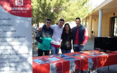 La FP del Juan23 participa en la Feria de la Educación de Cocentaina