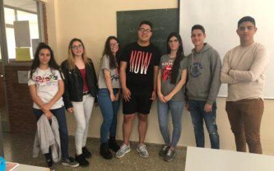 Los alumnos de 2º de Actividades Comerciales en la III semana de la FP
