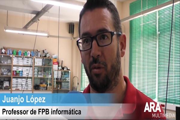 Ara Multimèdia presenta la oferta formativa del Juan 23