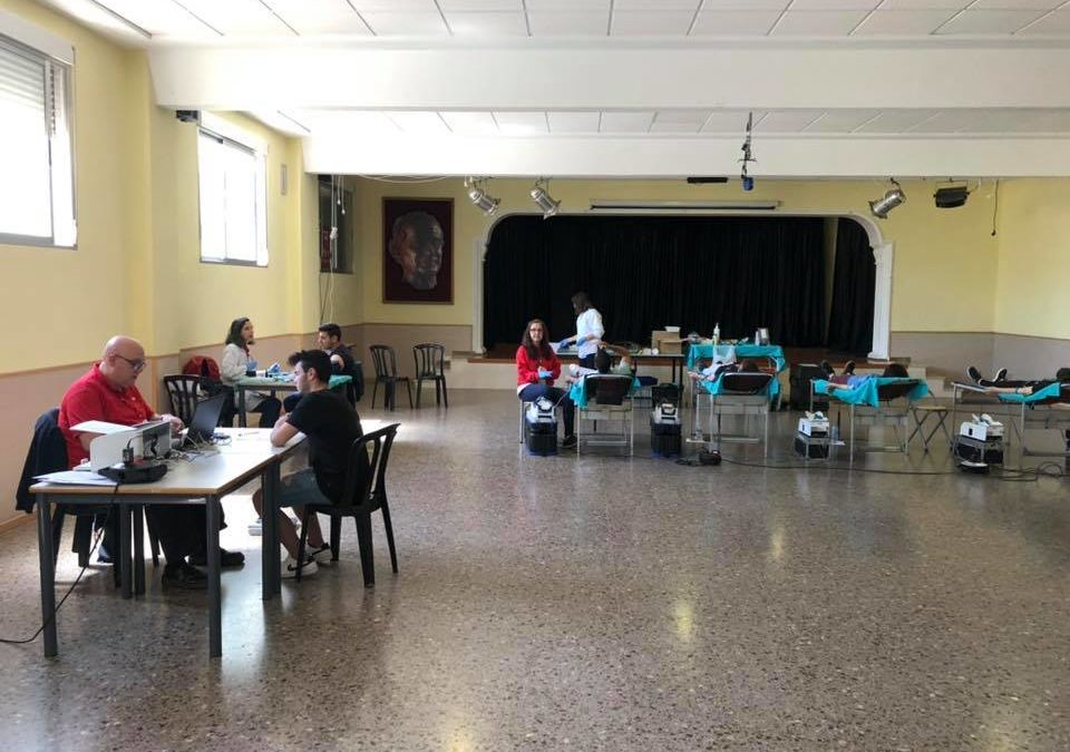 Gran éxito de la donación de sangre en el Juan23