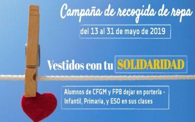 Campaña de recogida de ropa usada en el Juan23
