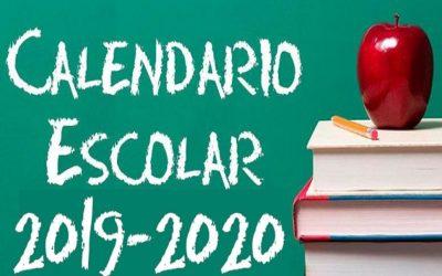 Educación fija el inicio del próximo curso 2019-2020 el 9 de septiembre