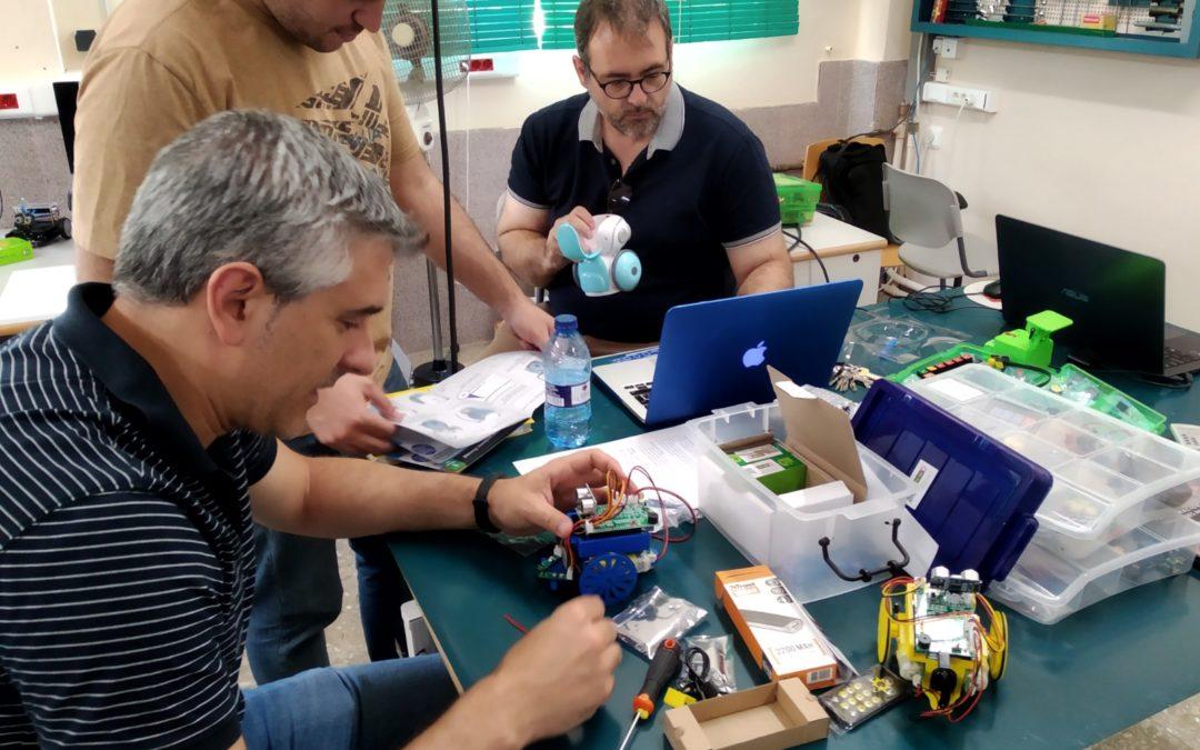 Jornada de formación del profesorado: «Robótica en el aula»