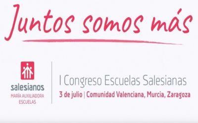 Salesianos Alcoy presente en el I Congreso de Escuelas