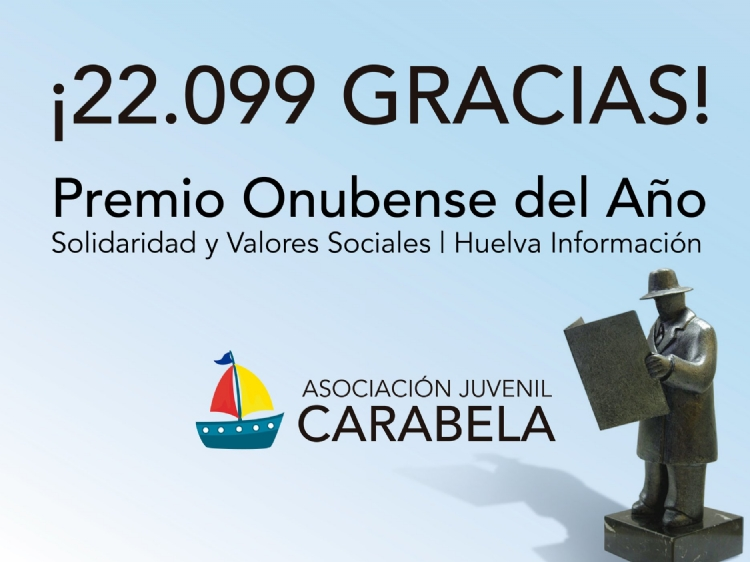 La Asociación Juvenil Carabela recibe el premio Onubense del año