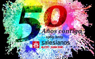 Empiezan los actos de los 50 años de Salesianos Juan XXIII de Alcoy