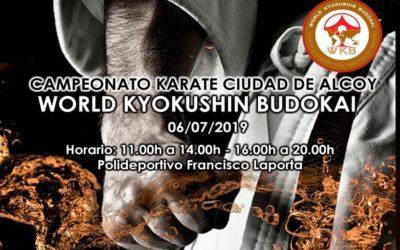 Nuestro alumno de teleco, David Reyes, en el World Kyokushin Budokai