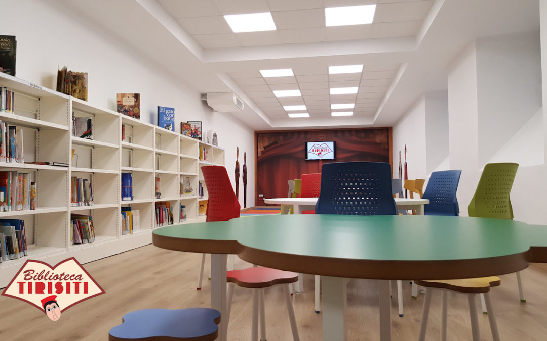 La biblioteca del Tirisiti