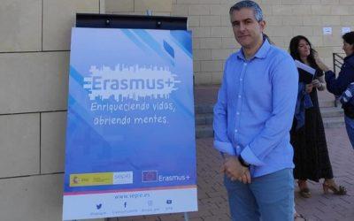 Juan23 en las Jornadas de formación de proyectos Erasmus+ KA229