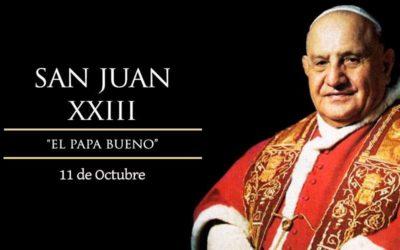 Hoy celebramos a San Juan XXIII, el Papa bueno