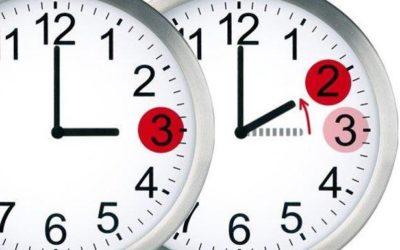 El cambio de hora