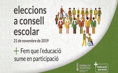 Elecciones al Consejo Escolar 2019