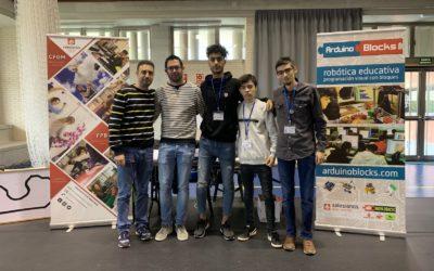 Taller de robótica en la Universidad de Alcoy