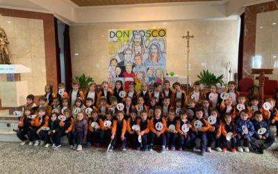 La fiesta de Don Bosco de los alumnos de infantil