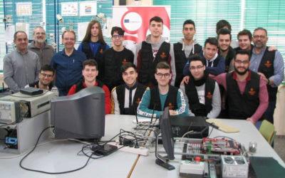 Profesores de Saint Chély d'Apcher (Francia) visitan nuestra escuela