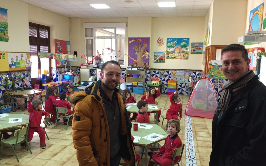 Visita del Coordinador de Escuelas de la zona centro de la Inspectoría Salesiana María Auxiliadora a Salesianos San Vicente Ferrer