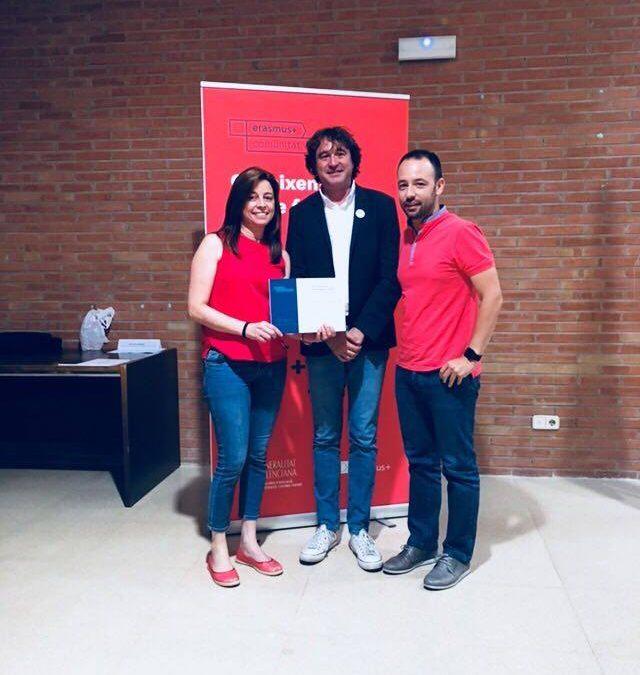 Entrega reconocimiento KA101 Erasmus+