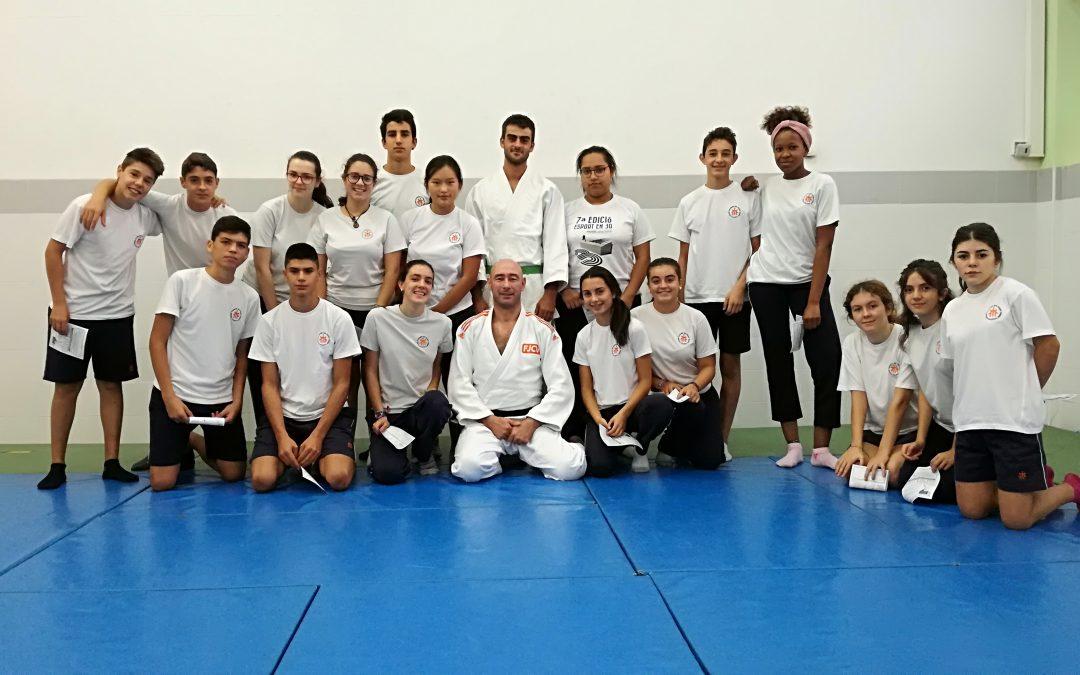 El Judo vuelve al Colegio.