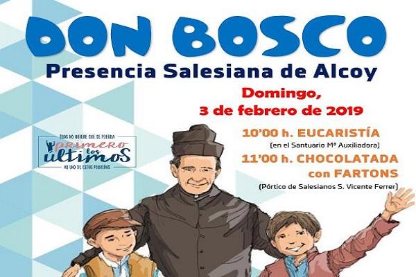 Fiesta de Don Bosco en la Presencia Salesiana de Alcoy