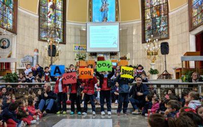 Eucaristía en el día grande de DON BOSCO