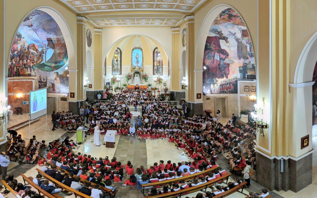 Eucaristía del 24 de mayo: Fiesta grande en Salesianos San Vicente Ferrer