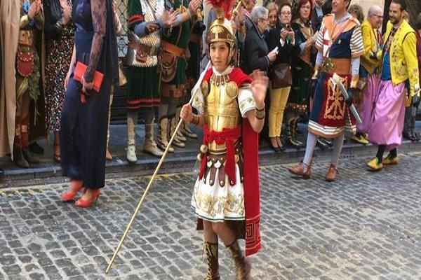 Álvaro Santacreu Piñero, protagonista de las fiestas de Alcoy