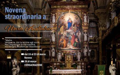 Una Novena extraordinaria a María Auxiliadora