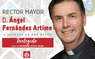 Ángel Fernández Artime, reelegido Rector Mayor de los Salesianos