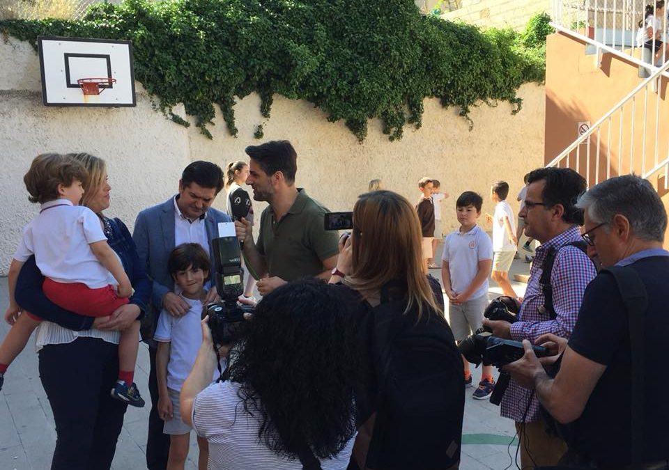 El alumno de Salesianos San Vicente Ferrer, Álvaro Santacreu Piñero, SANT JORDIET 2019
