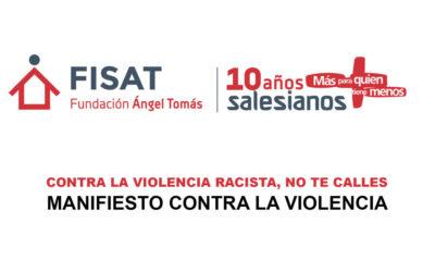 La Fundación Ángel Tomás y Salesianos Alcoy se posicionan ante la violencia y la indiferencia