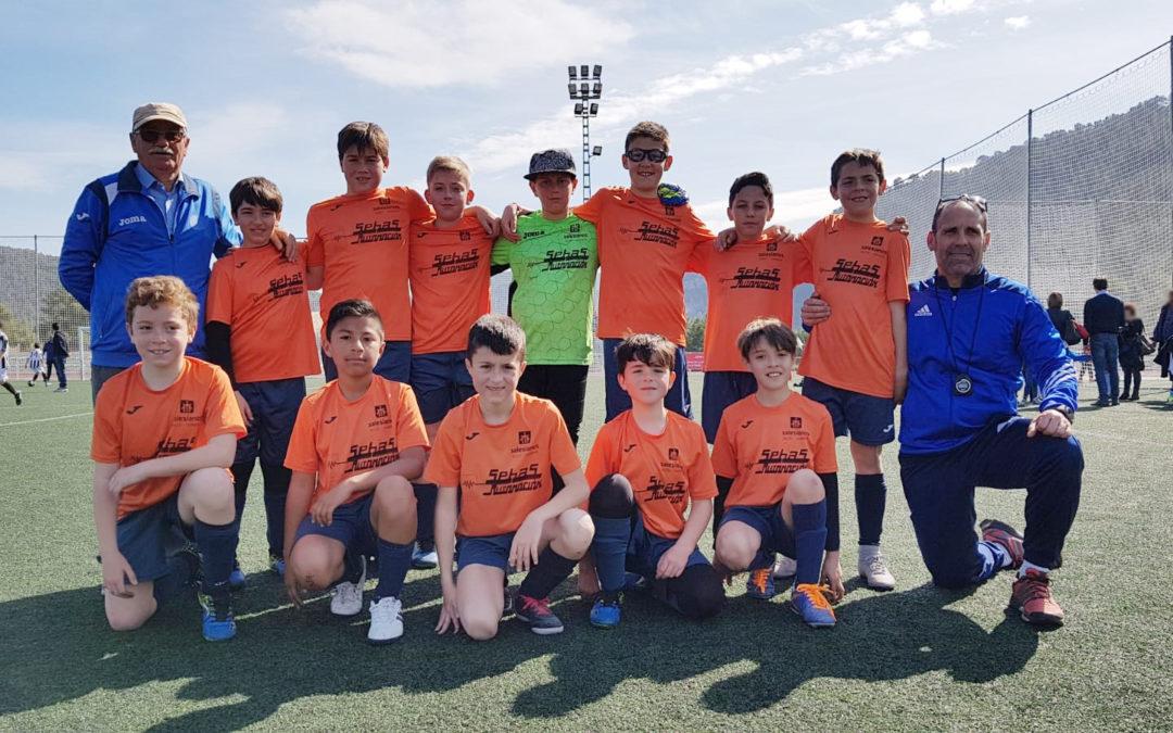 L'equip Aleví de Futbol 8 del Joan 23 campió de Lliga als Jocs Esportius