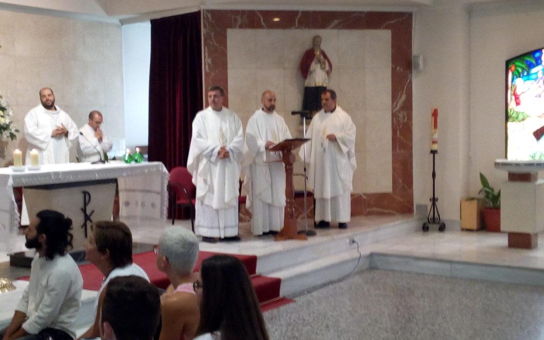 Toma de posesión de Pablo Gómez como párroco