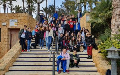 Visita de 1º de ESO de SVF al MARQ de Alicante
